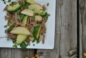 Turkey Apple Avocado Salad