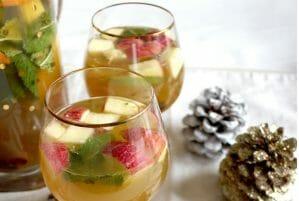 Cardamom Spiced Apple Kombucha Sangria