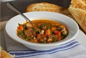 Kale, Sausage and Bean Soup