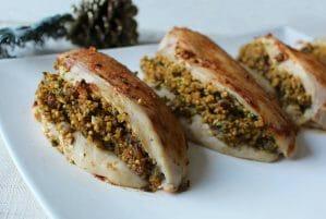 Moroccan Millet Stuffed Chicken Breasts