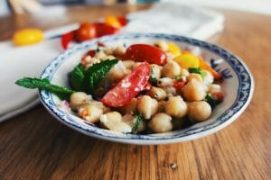 Refreshing Spiced Chickpea Salad