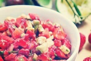 Strawberry & Avocado Salsa