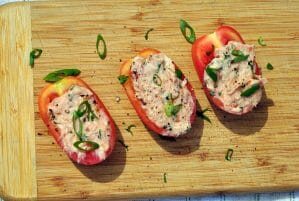 Tomato Basil Tuna Salad