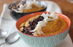 Pumpkin and Almond Porridge