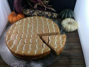 Pumpkin and Cinnamon Cheesecake