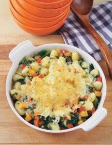 Gnocchi with Squash, Kale and Parmesan